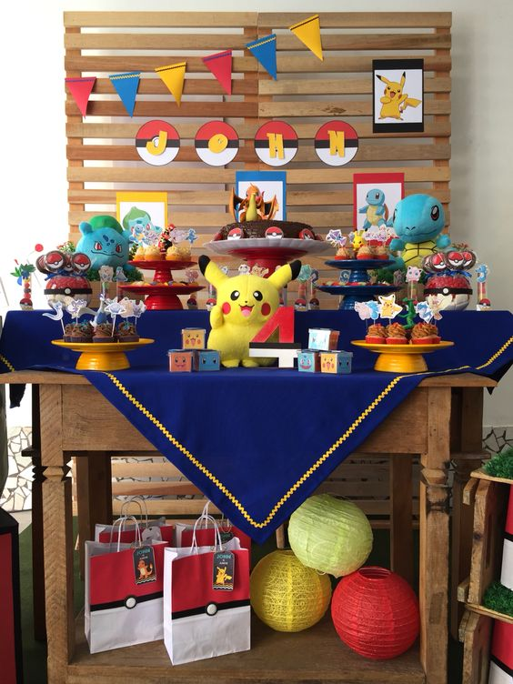 decoracion de pokemon para fiestas (2)