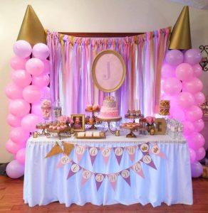 Decoración de princesas disney para fiestas