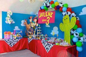 Decoración de toy story para fiestas