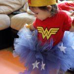 Disfraces de la mujer maravilla para fiestas infantiles