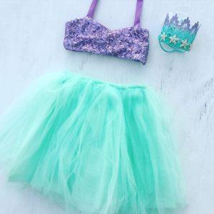 Disfraces de mermaid para fiestas infantiles