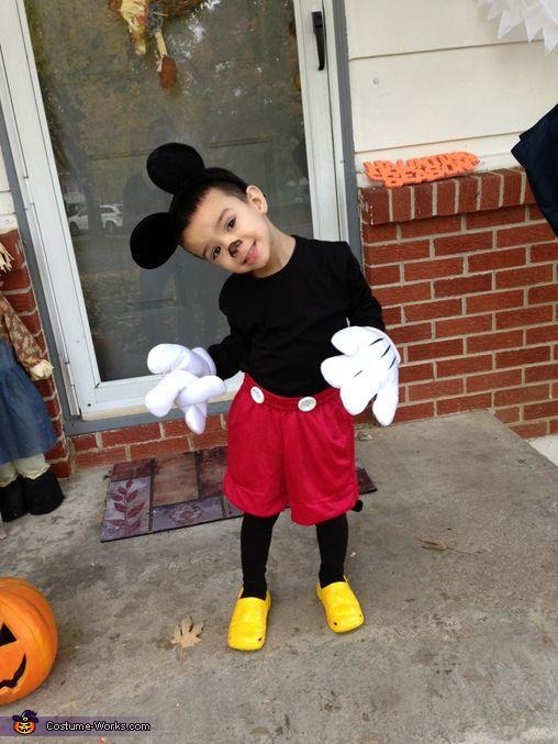 Disfraces de mickey mouse para fiestas infantiles