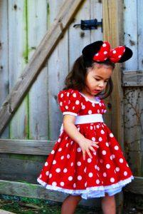 Disfraces de minnie mouse para fiestas infantiles