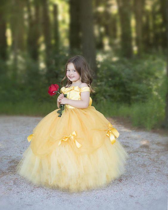 disfraces de princesas disney para fiestas infantiles (2)