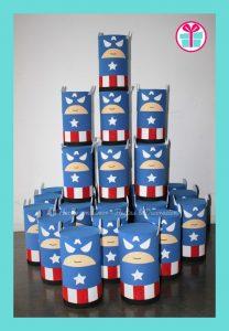 dulceros de capitan america (2)