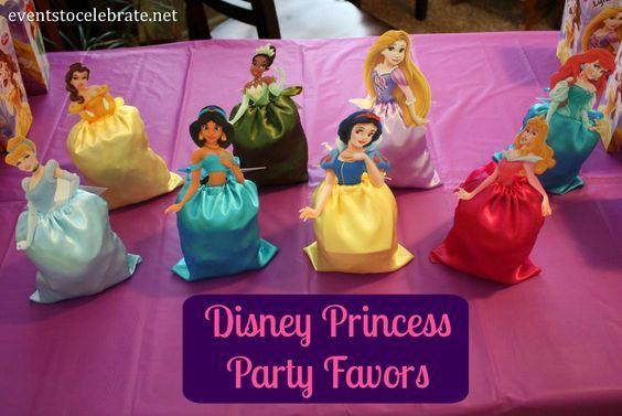 Dulceros de princesas disney