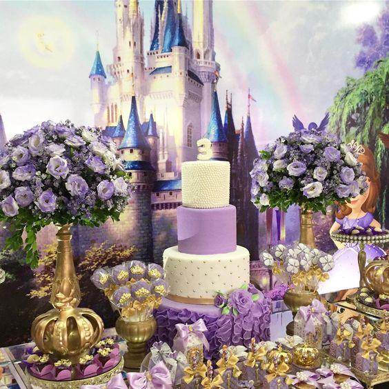 Fiesta de cumpleaños de princesa sofia
