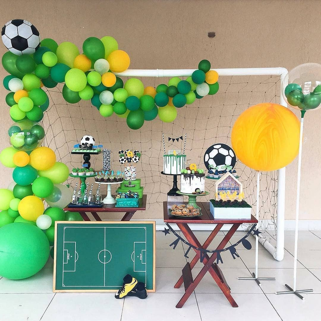 fiesta infantil con tema de football 6