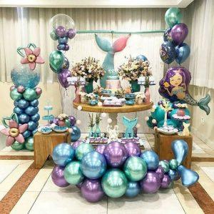 fiesta infantil de mermaid