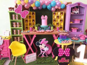 fiesta infantil de minnie mouse