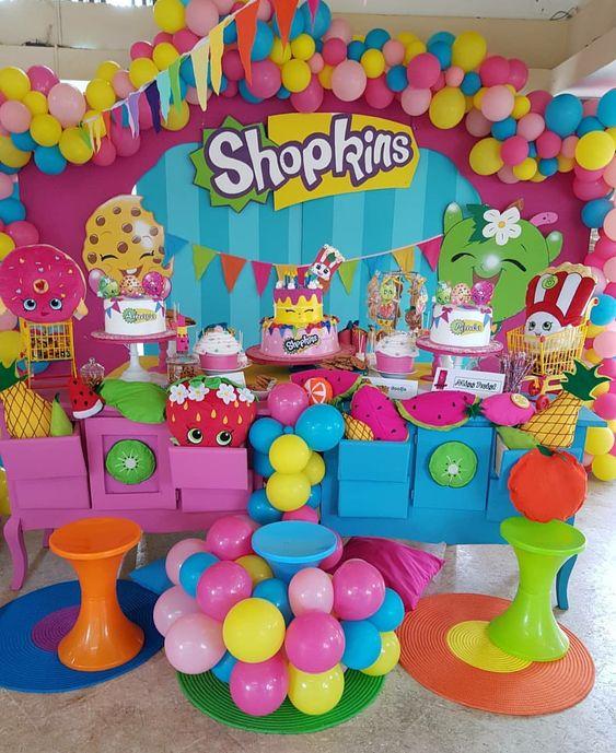 Fiesta infantil de Shopkins