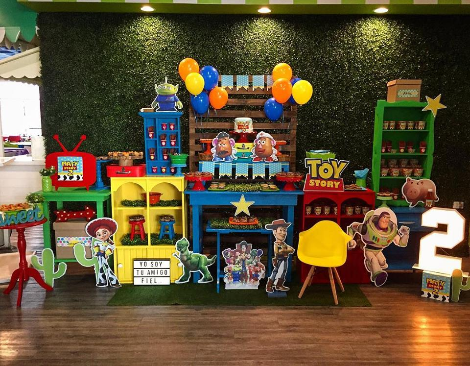 Fiesta infantil de toy story