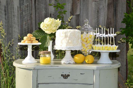 fiesta tematica de limones