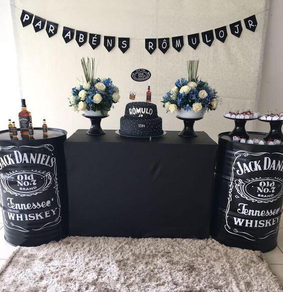 Fiesta temática de Jack Daniels