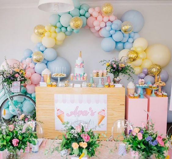 Guía para la decoración de fiestas