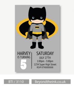 Invitacionesde batman