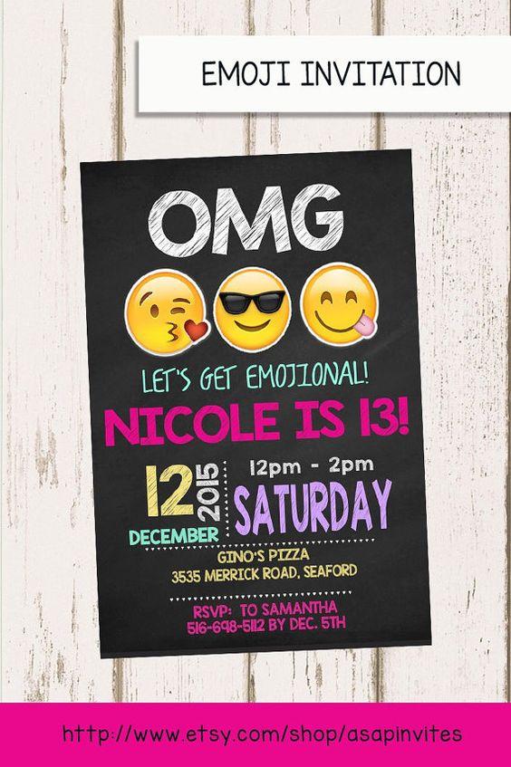 Invitacionesde emoji