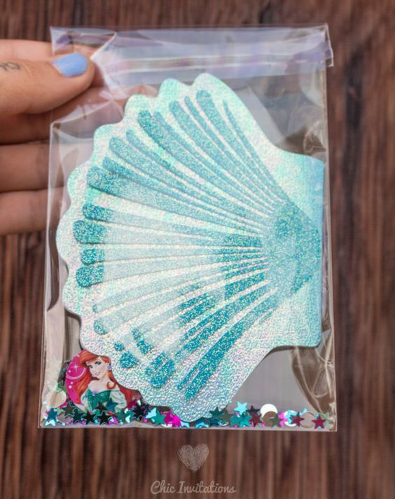 Invitaciones de mermaid