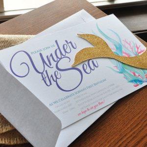 Invitacionesde mermaid