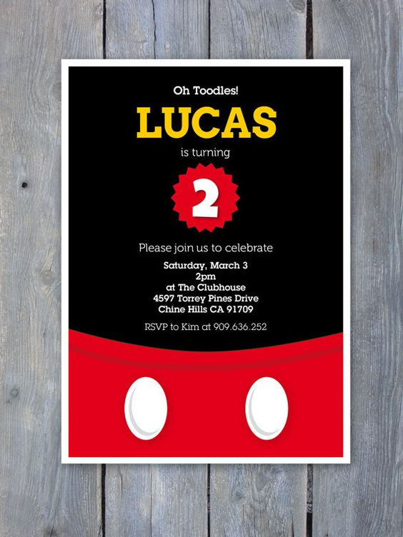 invitaciones de mickey mouse (2)