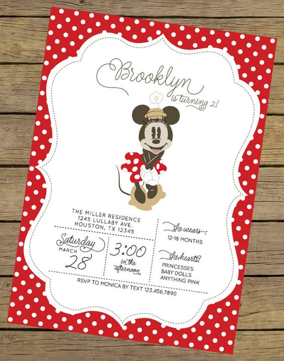 invitaciones de minnie mouse (2)