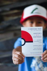 Invitacionesde pokemon