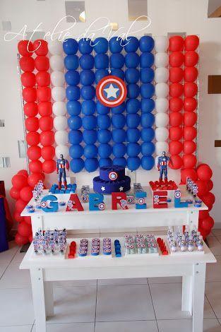 Mesa principalde capitan america