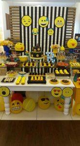 Mesa principal de emoji