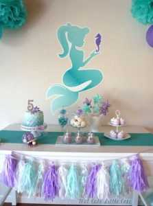 Mesa principal de mermaid