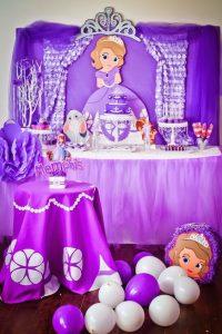 Mesa principal de princesita sofia