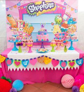 Mesa principal de Shopkins