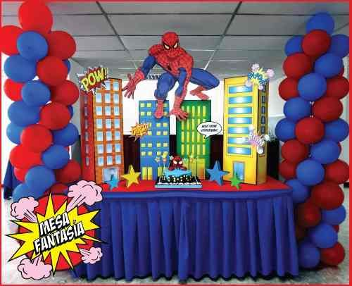 Mesa principal de spiderman