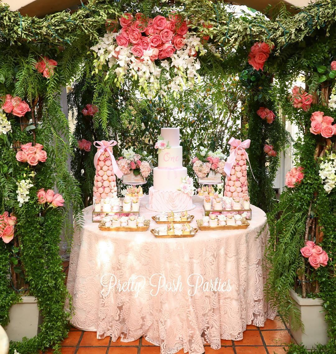 mesas principales decoradas