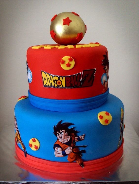 Pasteles de dragon ball z