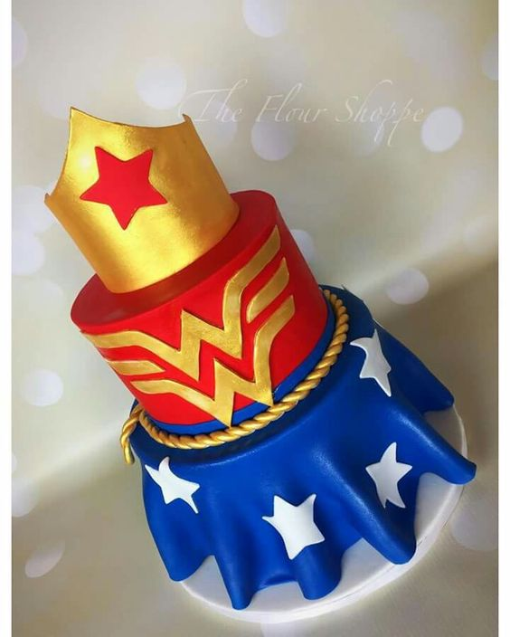 pasteles de la mujer maravilla (2)