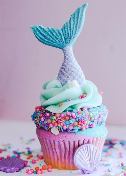 Pasteles de mermaid