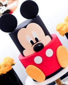 Pasteles de mickey mouse