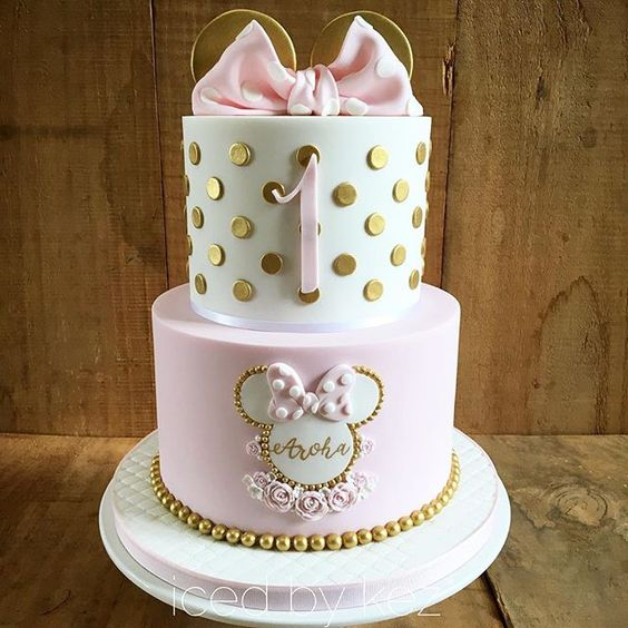 Pasteles de minnie mouse