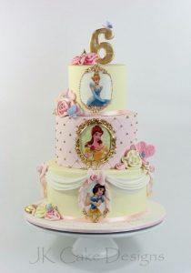 Pasteles de princesas disney