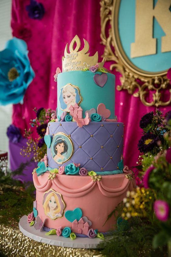 pasteles de princesas disney (2)