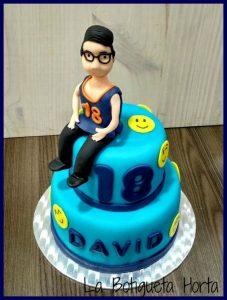 pasteles para 18 años de hombre