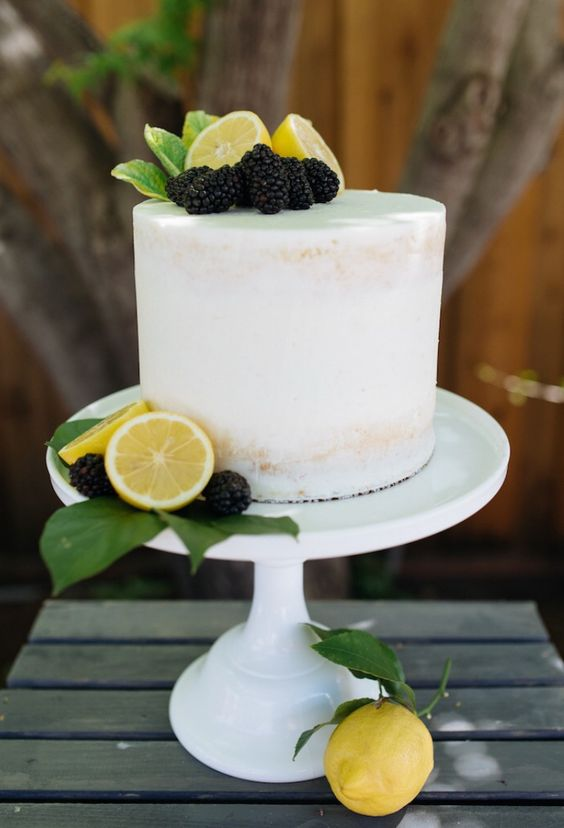 pasteles para una fiesta tematica de limones