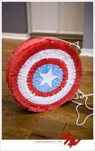 Piñatas de capitan america