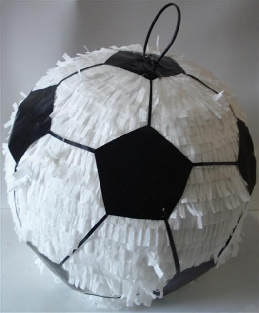 piñatas de futbol