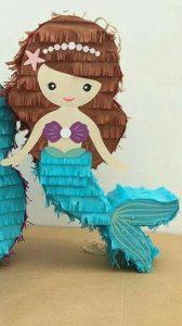 Piñatas de mermaid