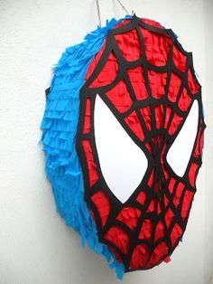 Piñatas de spiderman
