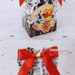 dulceros para fiesta de la mujer maravilla