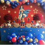 fiestas infantiles de la mujer maravilla