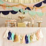 Imágenes de Colgantes modernos para decorar fiestas