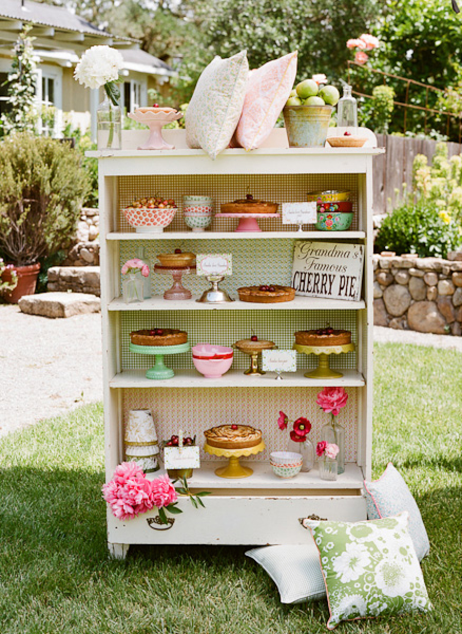 que es una mesa de dulces vertical